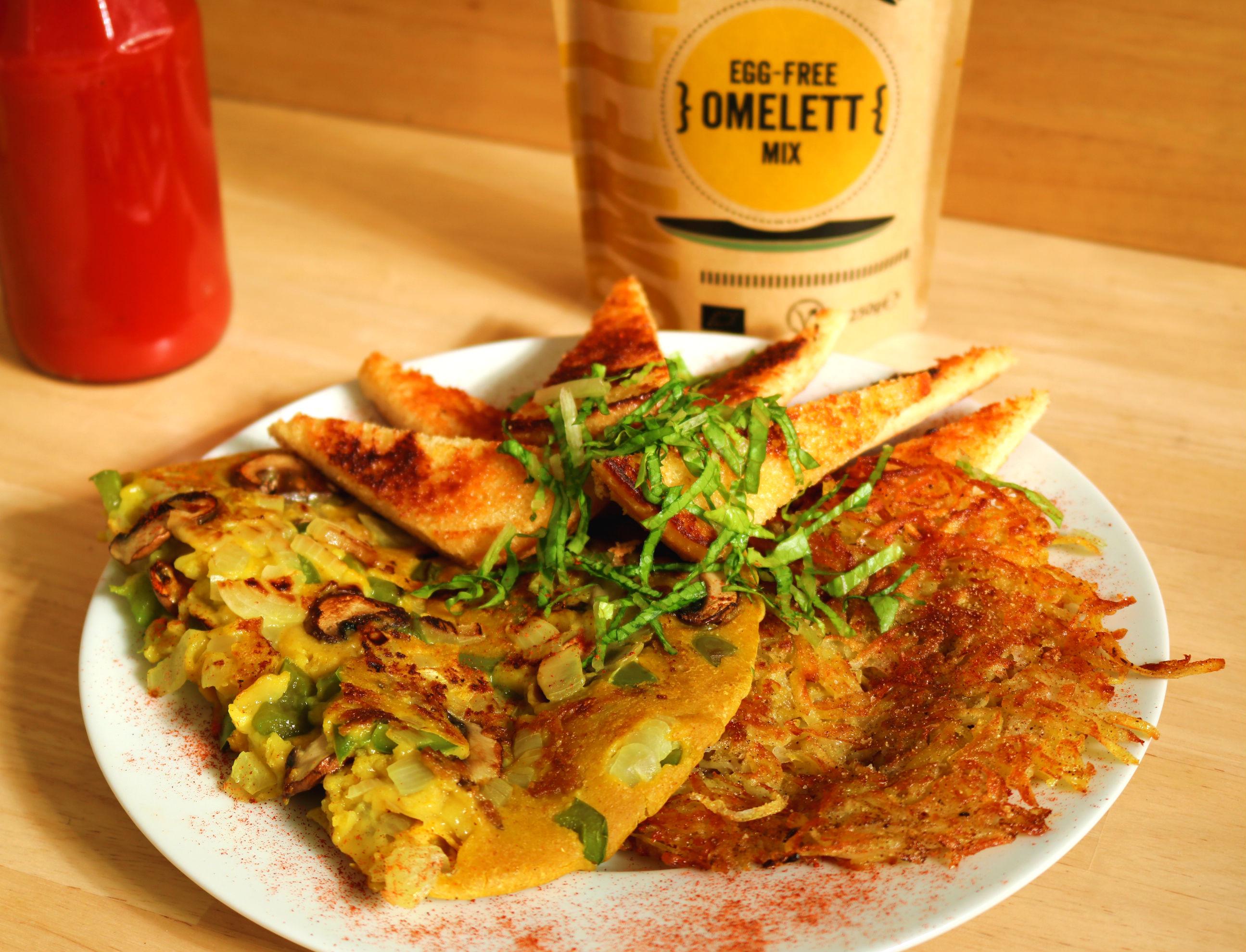 terra vegane egg free omelette mix